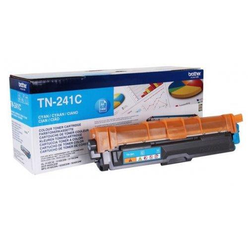 Brother TN-241C, Тонер касета за BROTHER HL-3140CW / HL-3150CDW / HL-3170CDW, Цвят: Cyan (снимка 1)