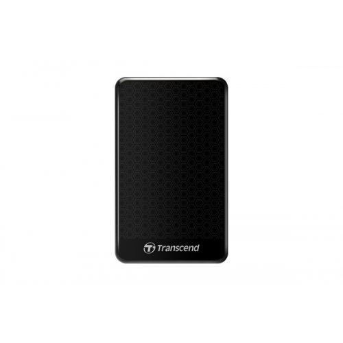 "Transcend StoreJet 25A3K 2TB, 2.5"", USB3.0, Black, TS2TSJ25A3K (снимка 1)"