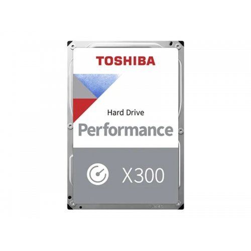 """Твърд диск Toshiba 6TB X300 - Performance Hard Drive (7200rpm / 256MB) 3,5"""" BULK  (снимка 1)"""