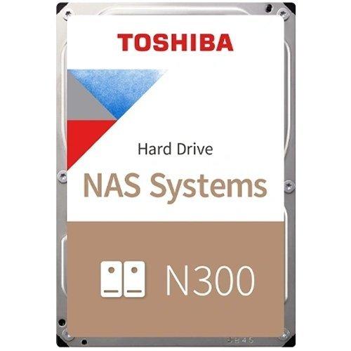 """Твърд диск Toshiba 8TB N300 NAS Hard Drive (7200rpm / 256MB) 3,5"""" BULK (снимка 1)"""