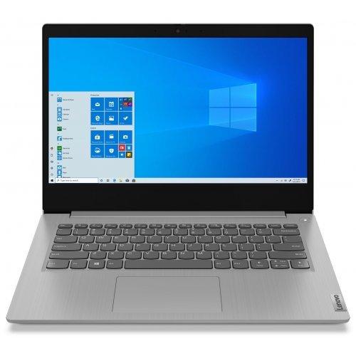 """Лаптоп Lenovo IdeaPad 3 14IGL05 81WH, сив, 14.0"""" (35.56см.) 1920x1080 (Full HD) без отблясъци TN, Процесор Intel Celeron N4020 (2x/2x), Видео Intel UHD Graphics 600, 4GB DDR4 RAM, 128GB SSD диск, без опт. у-во, Windows 10 in S mode - English ОС, Клавиатура- с БДС (снимка 1)"""