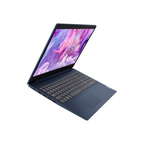 "Лаптоп Lenovo IdeaPad 3 15ITL6 82H8, син, 15.6"" (39.62см.) 1920x1080 (Full HD) без отблясъци IPS, Процесор Intel Pentium Gold 7505 (2x/4x), Видео Intel UHD Graphics, 4GB DDR4 RAM, 256GB SSD диск, без опт. у-во, без ОС, Клавиатура- с БДС (снимка 1)"