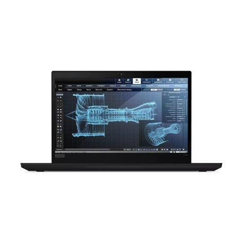 "Лаптоп Lenovo ThinkPad P14s G2 , черен, 14.0"" (35.56см.) 1920x1080 (Full HD) без отблясъци 60Hz IPS, Процесор Intel Core i7-1185G7 (4x/8x), Видео nVidia Quadro T500/ 4GB GDDR5, 16GB DDR4 RAM, 1TB SSD диск, без опт. у-во, Windows 10 Pro 64 ОС, Клавиатура- светеща (снимка 1)"