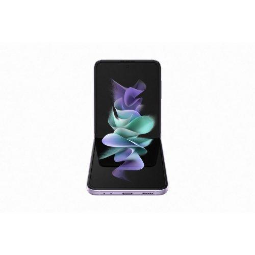 "Смартфон Samsung Galaxy Z Flip3 6.7"", 2640x1080, 8GB, SIM + eSIM 5G 256GB Lavandula (снимка 1)"
