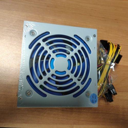 Захранващ блок DELUX ATX-500W 120mm, on/off switch (снимка 1)