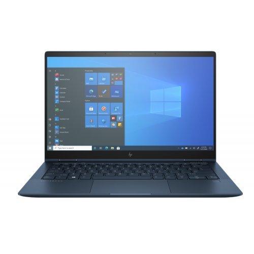 "Лаптоп HP Elite Dragonfly G2, 2 в 1, син, 13.3"" (33.78см.) 1920x1080 (Full HD) лъскав 60Hz IPS тъч, Процесор Intel Core i7-1165G7 (4x/8x), Видео Intel Iris Xe Graphics, 16GB LPDDR4X RAM, 512GB SSD диск, без опт. у-во, Windows 10 Pro 64 ОС, Клавиатура- светеща с БДС (снимка 1)"