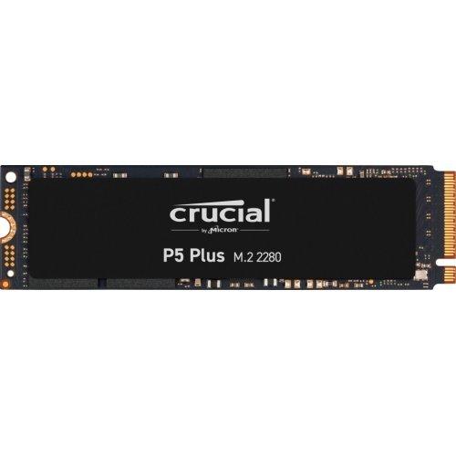 SSD Crucial 500GB P5 Plus 3D NAND NVMe PCIe Gen4 M.2 (снимка 1)