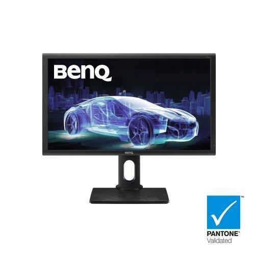 "Монитор BenQ 27"" PD2700Q, IPS, 4ms, 2560x1440 WQHD, Designer Monitor, 100% sRGB, Eye Care, Flicker-free, LBL, DualView Mode, 1000:1, DCR 20M:1, 10bit, 350 cd/m2, HDMI, DP, miniDP, Speakers, Height Adj., Swivel, Pivot, Tilt, Black (снимка 1)"
