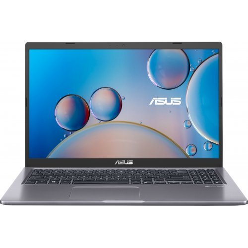 "Лаптоп ASUS X515JA-BQ301T - 15.6"" FHD AG, Intel i3-1005G1 (Up to 3.4Ghz, 4 MB), 4GB DDR4 RAM, 256GB M.2 PCle NVMe, Windows 10 Home, Сив (снимка 1)"