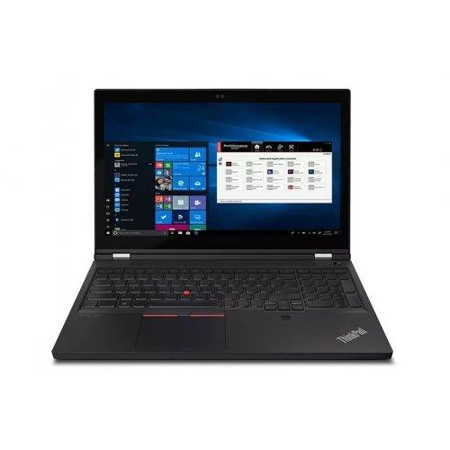 "Лаптоп Lenovo ThinkPad P15 G2 Intel Core i9-11950H (2.6GHz up to 5.0GHz, 24MB), 32GB (16+16) DDR4 3200MHz, 1TB SSD, 15.6"" FHD (1920x1080) IPS AG, NVIDIA RTX A3000/6GB, WLAN, BT, 720p&IR Cam, Backlit KB, FPR, SCR, Color Calibration, Win10Pro, 3Y (снимка 1)"