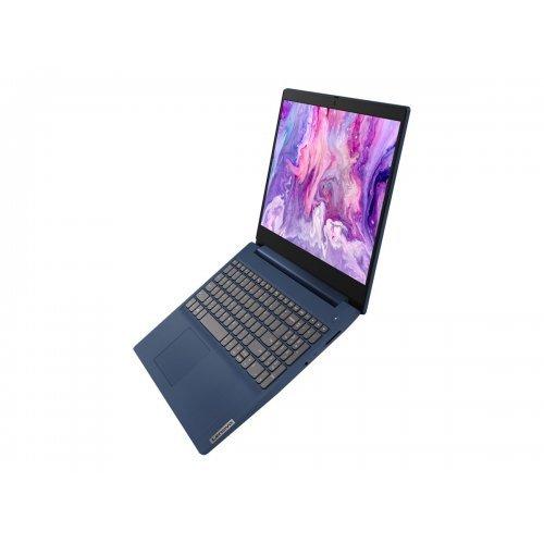 "Лаптоп Lenovo IdeaPad 3 15IIL05 81WE - Core i3 1005G1 / 1.2 GHz - FreeDOS - 8 GB RAM - 512 GB SSD NVMe - 15.6"" TN 1920 x 1080 (Full HD) - UHD Graphics - Wi-Fi 5, Bluetooth - abyss blue - kbd: Bulgarian (снимка 1)"