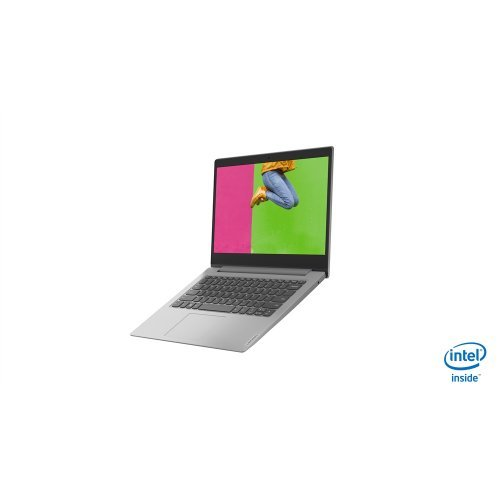 Лаптоп Lenovo IdeaPad Celeron N4020 14.0inch HD 4GB DDR4 64GB eMMC 2Y Win10 Home S Platinum Grey (снимка 1)
