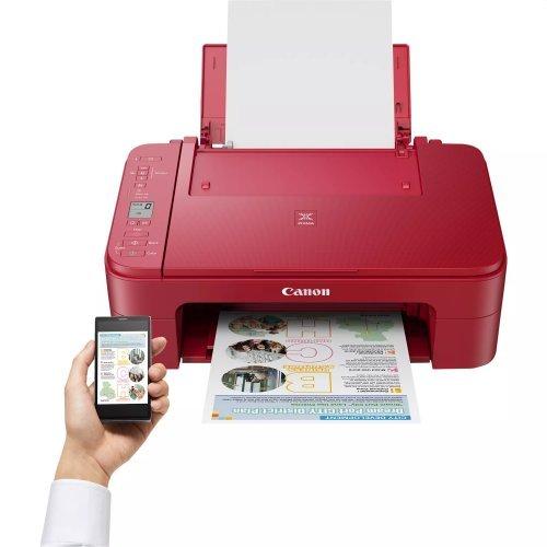 Принтер Canon PIXMA TS3352 All-In-One, Red (снимка 1)