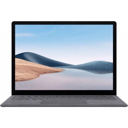 "Лаптоп Microsoft Surface Laptop 4 - Core i5 1135G7 - Win 10 Home 20H2 - 8 GB RAM - 512 GB SSD - 13.5"" touchscreen 2256 x 1504 - Iris Xe Graphics - Bluetooth, Wi-Fi 6 - platinum (снимка 1)"