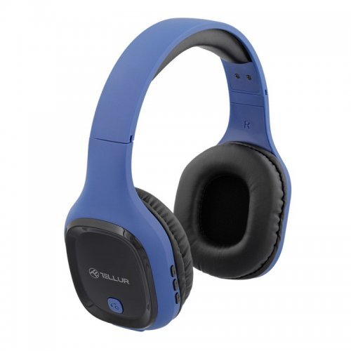 Слушалки Tellur PULSE - blue (снимка 1)
