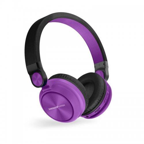 Слушалки Energy URBAN 2 Mic, Radio BT headphones, violet (снимка 1)