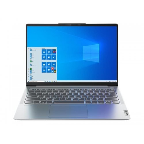 "Лаптоп Lenovo IdeaPad 5 Pro 14ACN6 82L7 - Ryzen 5 5600U / 2.3 GHz - 16 GB RAM - 512 GB SSD NVMe - 14"" IPS 2880 x 1800 (2.8K) @ 90 Hz - GF MX450 / Radeon Graphics - Wi-Fi 6, Bluetooth - storm grey - kbd: Bulgarian (снимка 1)"