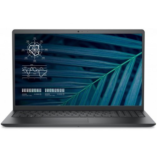 """Лаптоп Dell Vostro 3510, Intel Core i7-1165G7 (12MB Cache, up to 4.7 GHz), 15.6"""" FHD (1920 x 1080) AG Non-Touch, 8GB DDR4 3200MHz, 512GB PCIe NVMe, GeForce MX350 2GB GDDR5, 802.11ac, BT, Ubuntu, 3Y Basic Onsite (снимка 1)"""