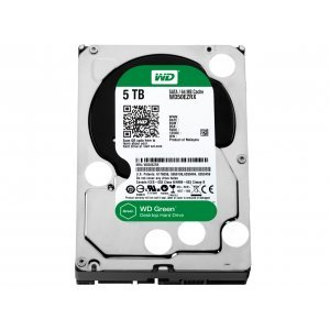 Western Digital 5TB, Green WD50EZRX, SATA3, 64MB, IntelliPower (снимка 1)