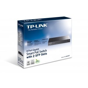 TP-Link TL-SG2210P, 8-Port Gigabit Smart PoE Switch with 2 SFP Slots (снимка 3)