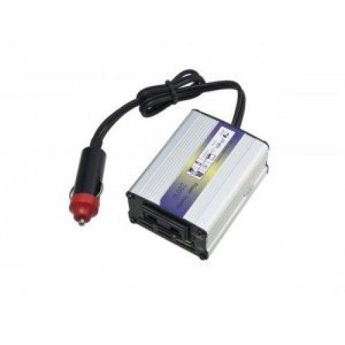 Инвертор на напрежение DC 12V на AC 220V, 300W Car Power Inverter, 5V USB Output (снимка 1)
