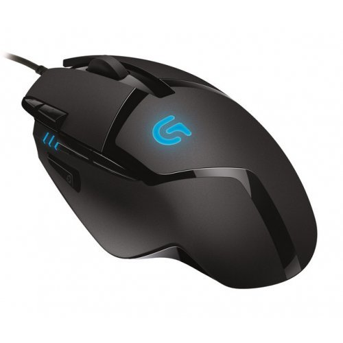 Мишка Logitech Gaming Mouse G402 Hyperion Fury, Fusion Engine Hybrid Sensor with 4000 dpi, 500 ips (inch-per-second), USB (снимка 1)