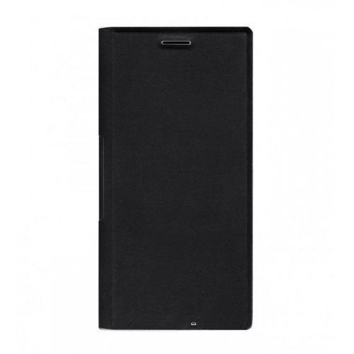 MOZO Wallet T-Bar Case for Nokia Lumia 730, Black (снимка 1)