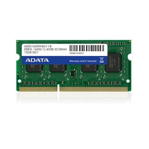 DDR3L SODIMM 8GB 1600MHz 1.35V Adata (снимка 1)