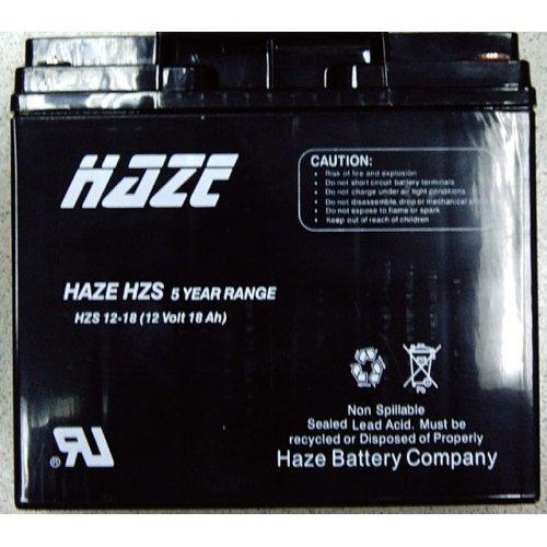Батерия 12V/18Ah, Haze AGM Standart (снимка 1)