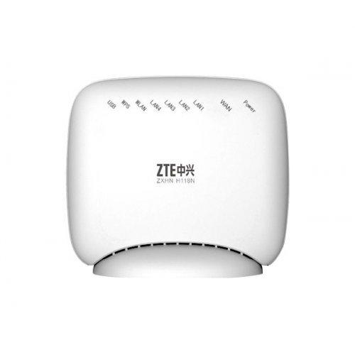 ZTE ZT-ZXHN-H118N, 300Mbps Router, 5x 10/100Mb, USB, 2 x 2 вътр. антени (снимка 1)