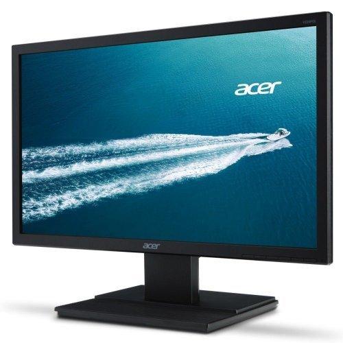 """Монитор Acer 19.5"""" V206HQLbb - UM.IV6EE.B01, 1366x768, TN LED, 5ms, 200cd/m2, 90°/65°, VGA (снимка 1)"""