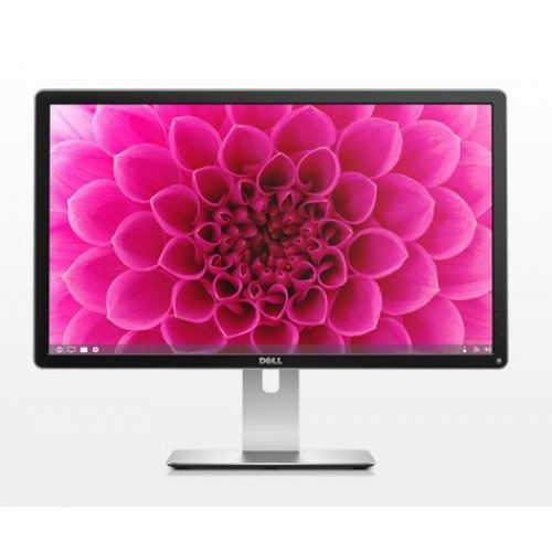 "Монитор Dell 23.8"" P2415Q Ultra HD LED, IPS Panel Anti-Glare, 6ms, 2000000:1 DCR, 300 cd/m2, 3840x2160, 4xUSB, HDMI, DisplayPort DP, Height Adjustable, Pivot, Swivel, Black (снимка 1)"