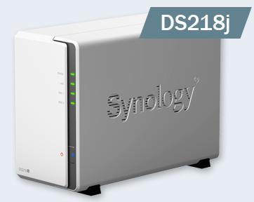 NAS устройства Synology DS218j