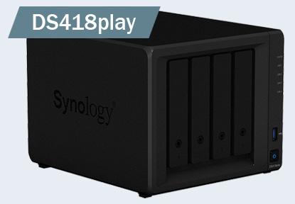 NAS устройства Synology DS418play