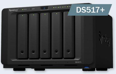 NAS устройства Synology DS517+