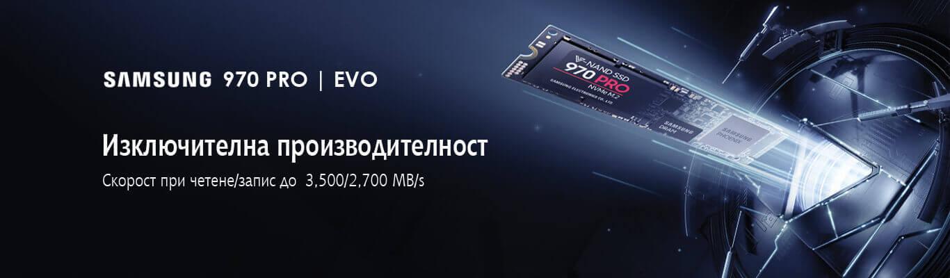 Samsung 970 PRO и 970 EVO